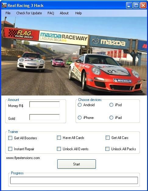 Real Racing 3 Hack Tools No Verification Unlimited Cash And Gold