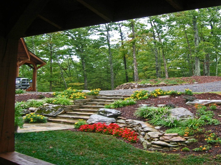 17 best images about hillside landscapes on pinterest for Home garden design atlanta