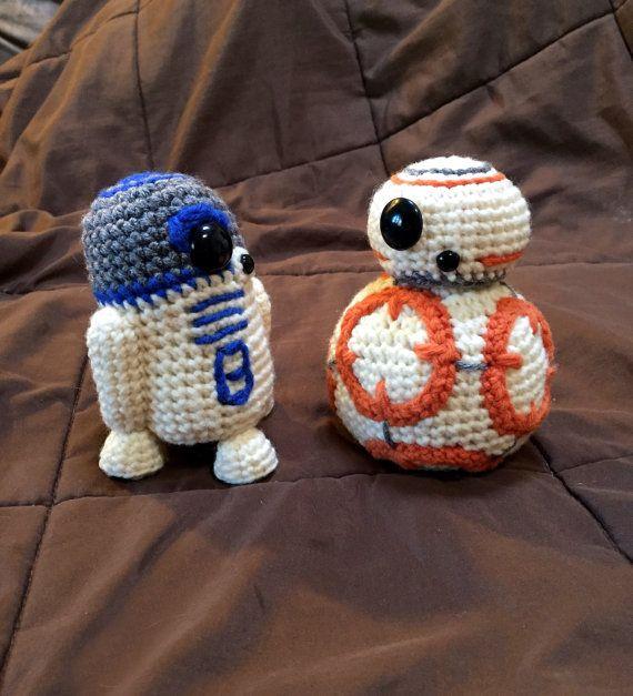 Free Star Wars Bb 8 Crochet Pattern : BB8 Star Wars Inspired Droid Crochet Pattern PDF H?keln ...