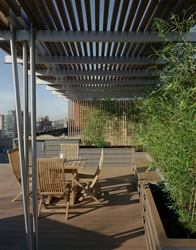 Residences - client names withheld - modern - patio - new york - TEK Architects, PC