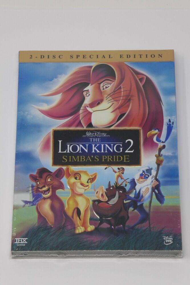 Walt Disney The Lion King 2 Simbas Pride Dvd 2004 2 Disc Special Set Sealed Disneypixar Lion King 2 Lion King Walt Disney