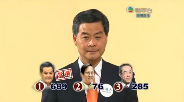 Why Do Hong Kongers Call Chief Executive CY Leung '689'? Posted 18 January 2016