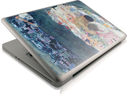 "Beautiful Klimt Death and Life Macbook Pro 13"" skin #geek #accessories"