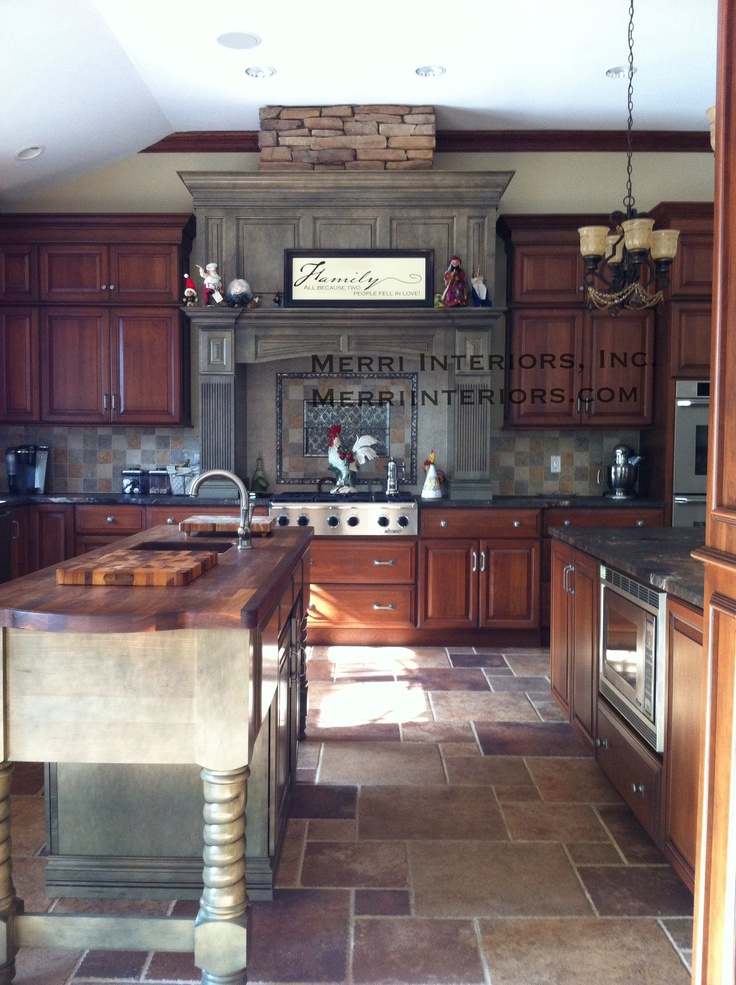 190 Best Two Toned Kitchens Images On Pinterest Dream