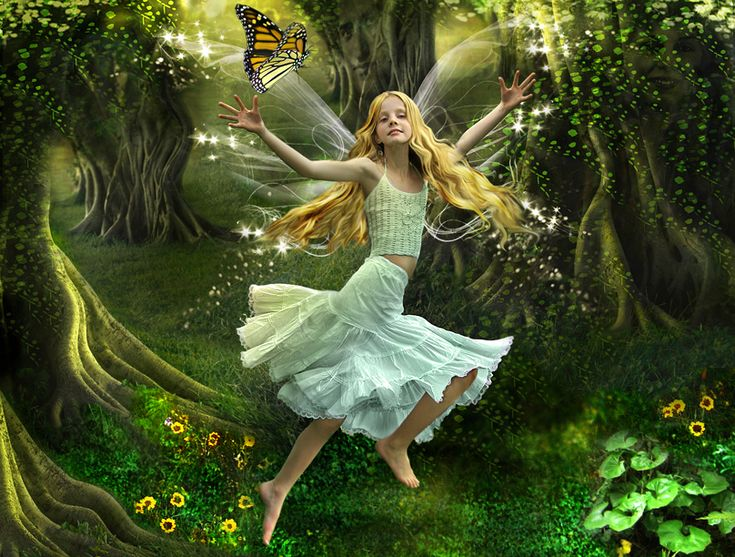Angels And Fairies Fantasy Pinterest