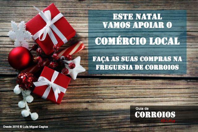Guia de Corroios: Este Natal vamos apoiar o Comércio Local