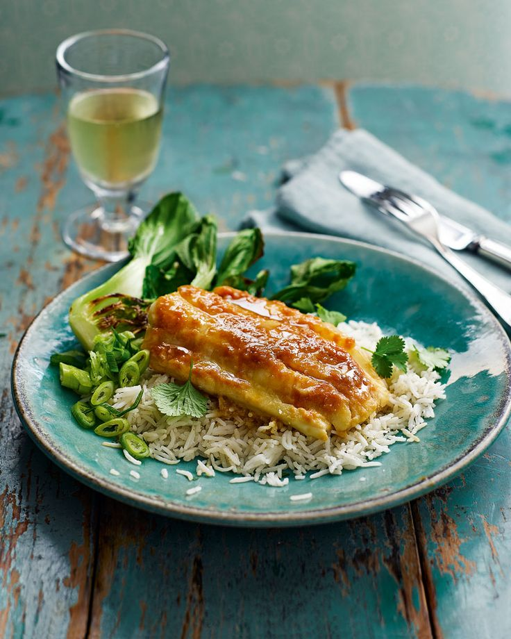 Miso-baked cod - The rich, umami flavour of miso in this sticky Japanese-style marinade is a perfect pairing for fish.