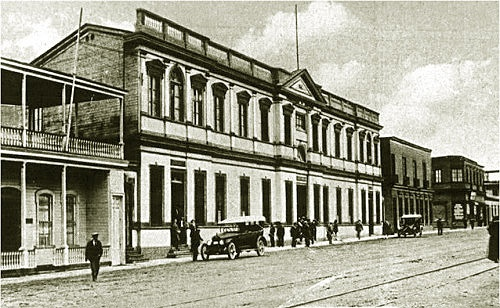 Pequeño recuento histórico sobre el Palacio del Museo Regional de Iquique