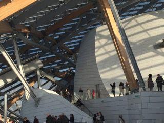 Under the Sails, Loius Vuitton Foundation, Paris