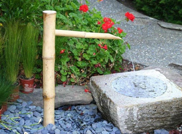 Les 25 meilleures idées de la catégorie Fontaine en bambou sur ...