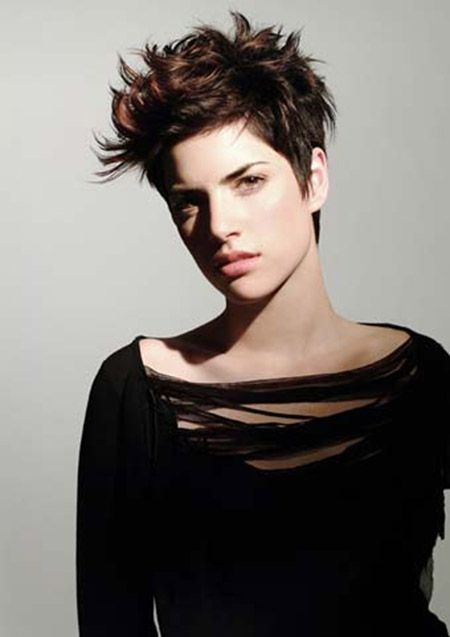 Awesome Messy and Spiky Pixie Cut - Short Hair Cuts and Styles