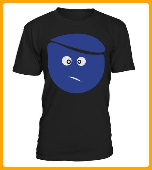 Cute Big smiley face Mens Ringer TShirt by American Apparel - Smiley shirts (*Partner-Link)