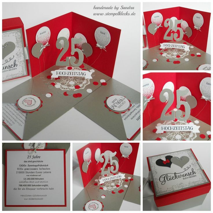 Geschenkbox Fur Die Silberhochzeit Explosionsboxen Die Explosionsboxen Fur Geschenk Silberhochzeit Geschenk Silberne Hochzeit Geschenk Silberhochzeit
