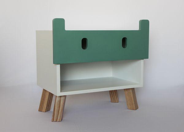 Mostros children furniture by oscar nunez, via Behance