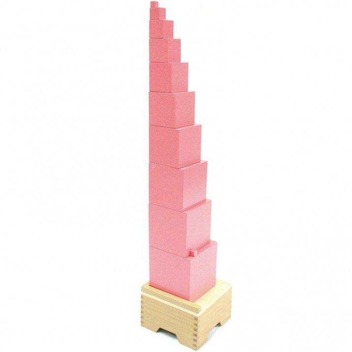 никогда монтессори розовая башня фото картинки быстрый способ