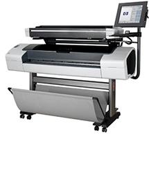 HP Designjet T1120 #quick #printing