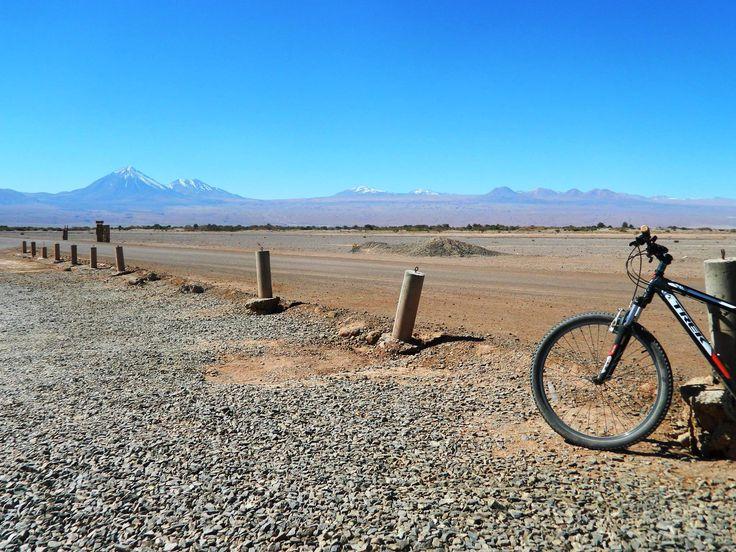 Atacama Desert on bikes.