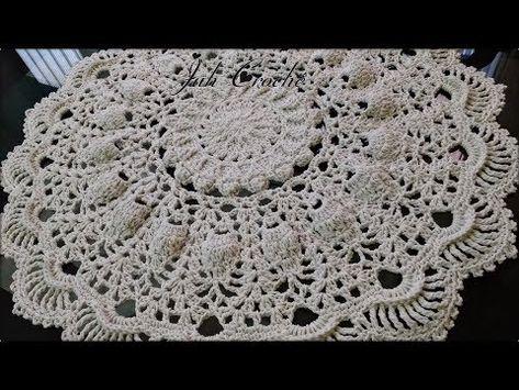 Tapete Guará – Modelo Russo Redondo *Primeira Parte #Juh Crochê – YouTube