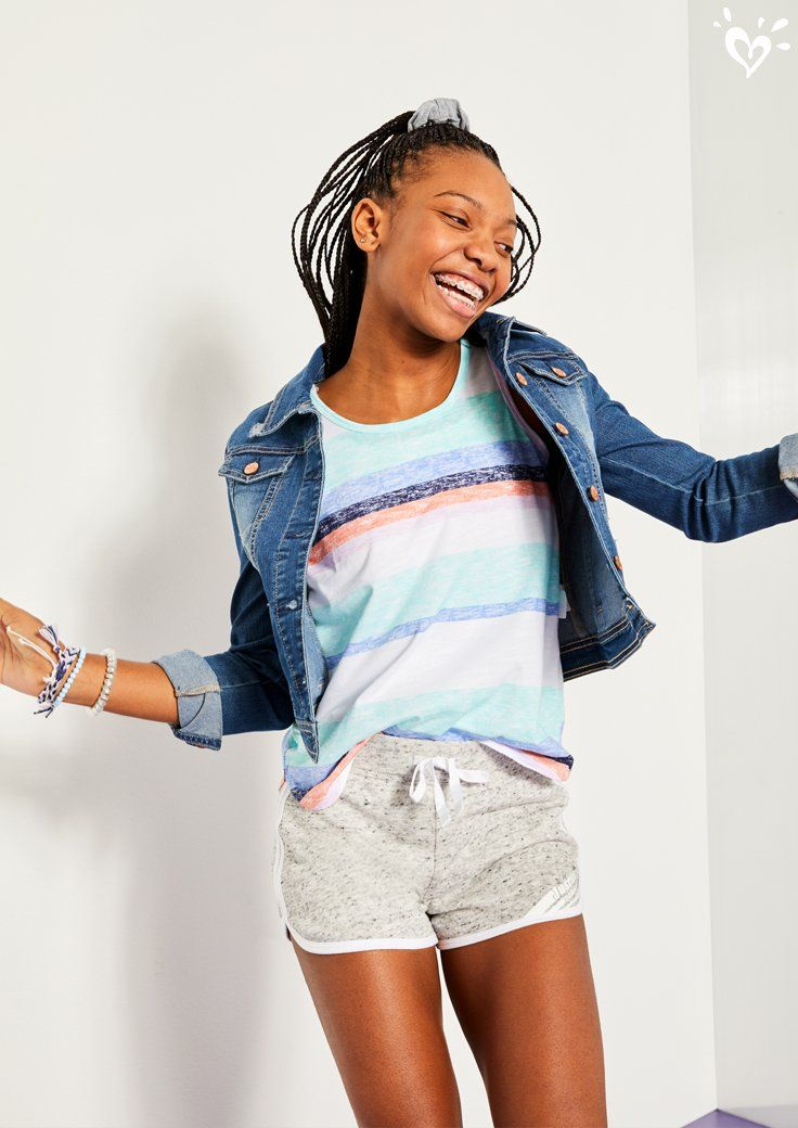 Comfy Looks Made To Mix Or Match Girls Outfits Tween Kids Outfits Girls Justice Clothing Outfits