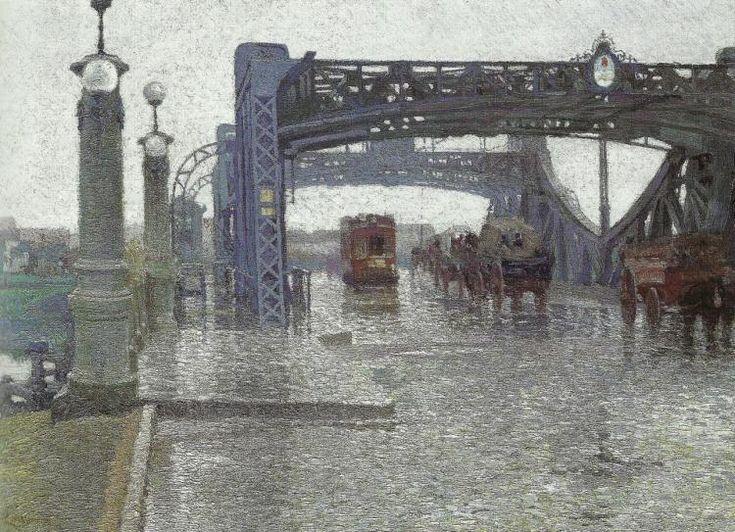 Pio Collivadino, Puente Victorino de la Plaza