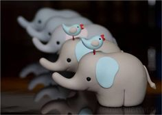 elephant & birdie sooo cute Inspiration