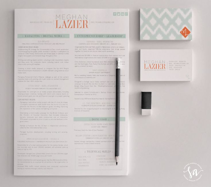 best 78 resume layout images on pinterest