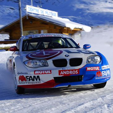 Stage pilotage sur glace Circuit Trophee Andros Isère