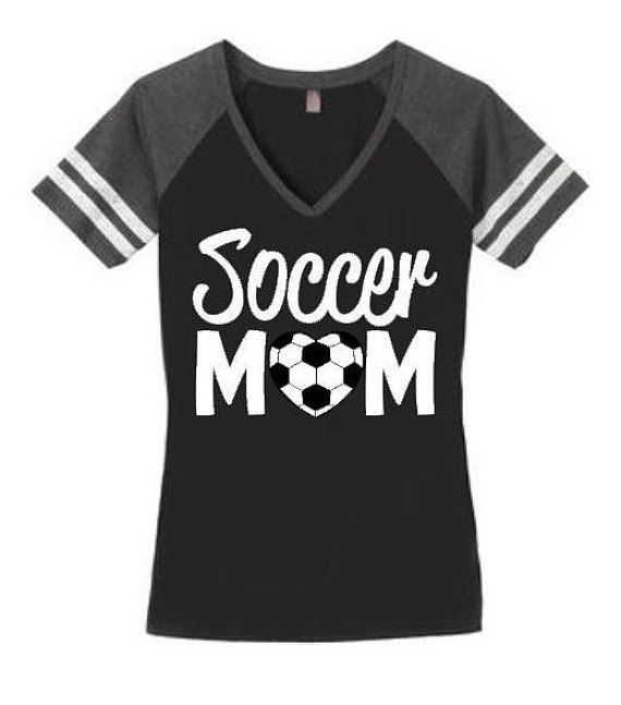 Soccer mom shirt Soccer mom top Soccer by SillyWillysBoutique