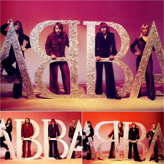 "On the 28th February 1976 ABBA were in a photo shoot with German photographer Bubbi Heilemann during which Benny turned his ""B"" around and a logo was created.. #Abba #Agnetha #Frida http://abbafansblog.blogspot.co.uk/2016/02/abba-date-28th-february-1976_27.html"