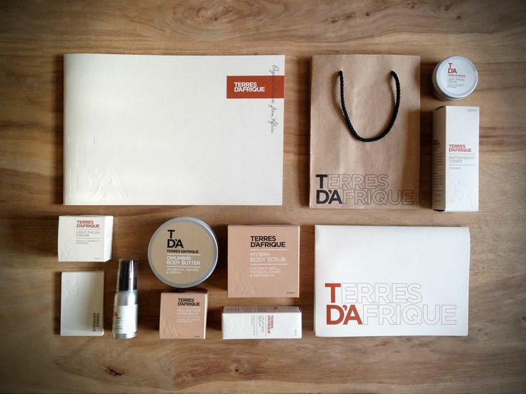 Terres d'Afrique Packaging and Identity by Plan B Design