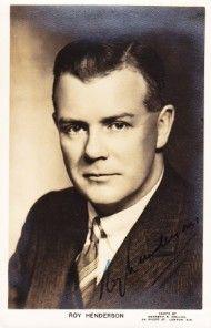 Roy Henderson (baritone) 1899 - 2000. Teacher of Kathleen Ferrier.
