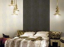 Papeles decorativos diseñados en Italia por Roberto Cavalli Home. Más información: (809) 331-0692. Cortinaje by Angel Cabrera – Av. Mejia Ricart #1 (Naco) – Santo Domingo
