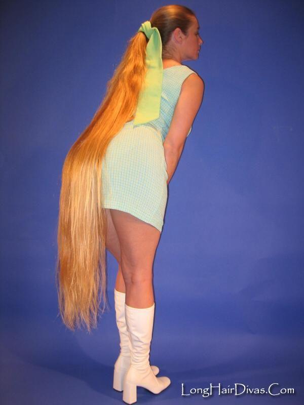 De 838 B 228 Sta Super Long Floorlength Hair Bilderna P 229 Pinterest