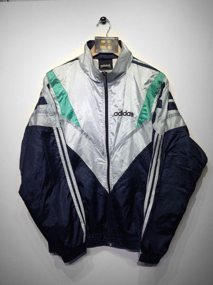 Adidas Shell jacket size Medium (but Fits Oversized) £32 Website➡️ www.retroreflex.uk #adidas #trefoil #vintage #oldschool #truevintage #fashion #style