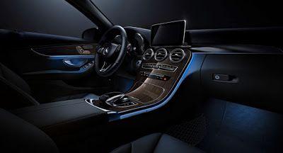 Mercedes-Benz C-Klasse erhält die S-Klasse inspirierten Ambiente-Beleuchtung Mercedes Mercedes C-Class Reports