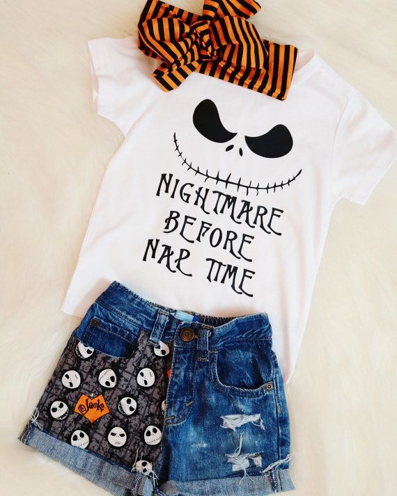 Nightmare Before Naptime Baby Toddler Shirt by KennedyBellesCloset