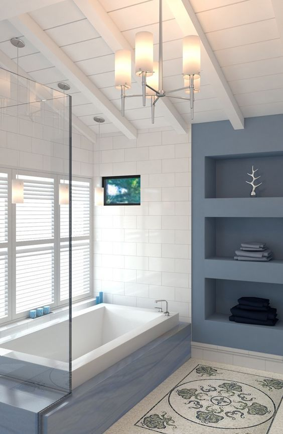 astounding light blue bathroom ideas | Gorgeous 78 Light Blue Bathroom Color Decorating Ideas in ...