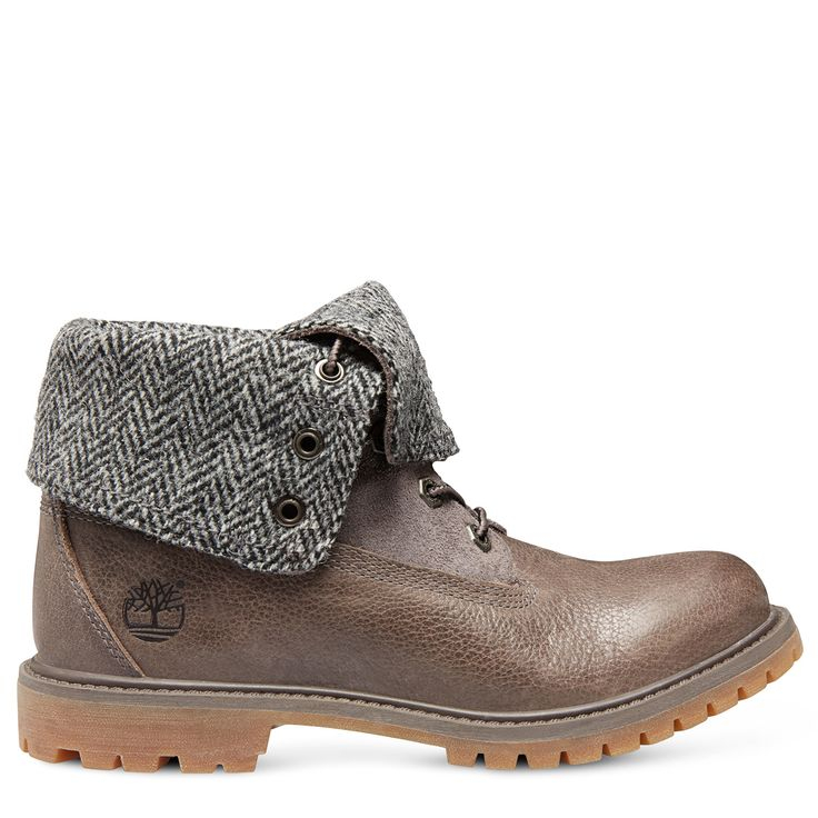 Timberland Authentics Fabric et Leather Roll Down Femme