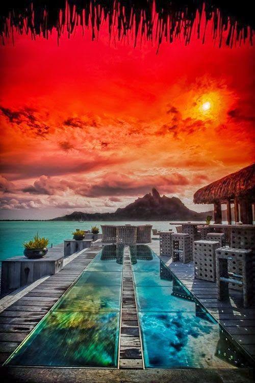 St. Regis, Bora Bora, Tahiti I Google earth Bora Bora at least once a week!