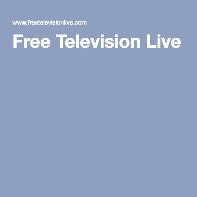 Free Television Live