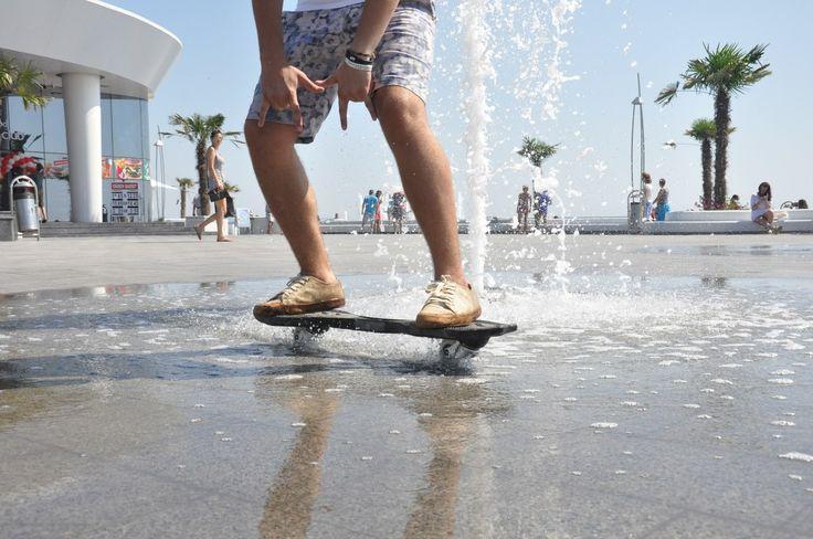 Двухколесные скейты Рипстик для активного отдыха