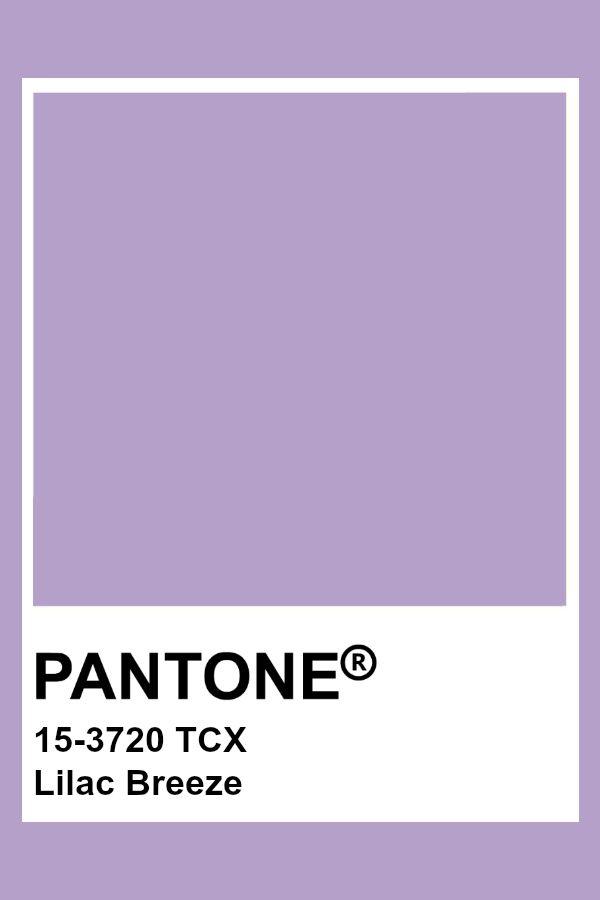 pantone 15 3720 tcx lilac breeze color in 2020 colour palettes palette swatch purple cmyk to pms illustrator 7522c