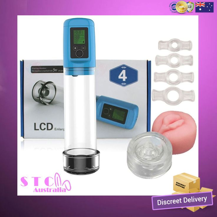 Enlargement Penis Device 4 | LCD | Male Pumps & Enlargers | USB CHARGING #LCD