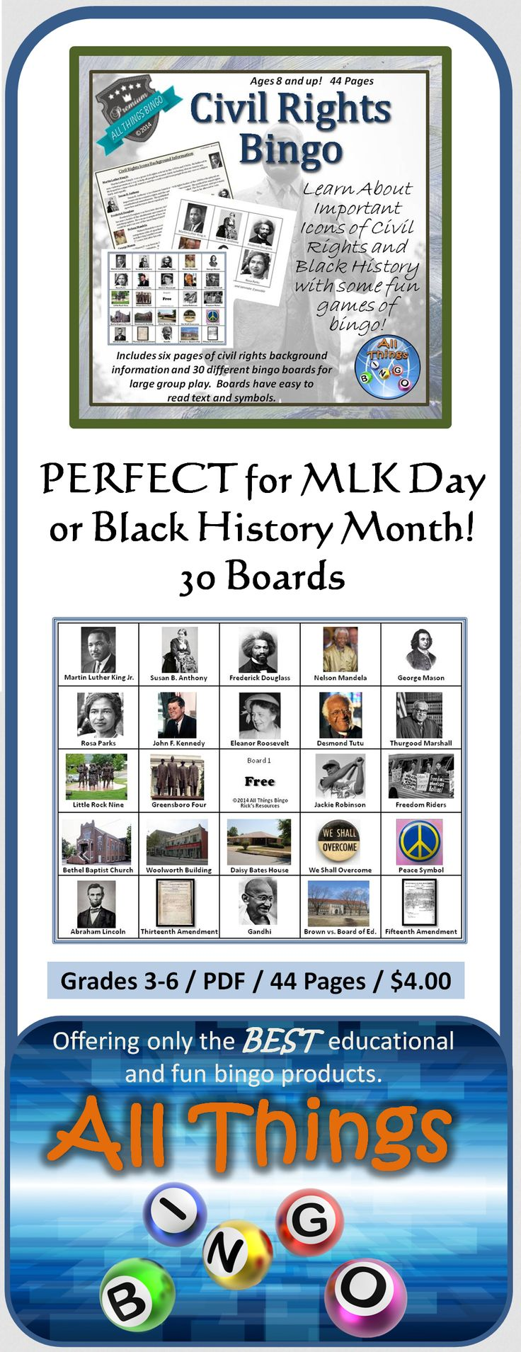30 best african american history month images on pinterest time what an educational and fun way to learn about important icons in the civil rights movements fandeluxe Image collections