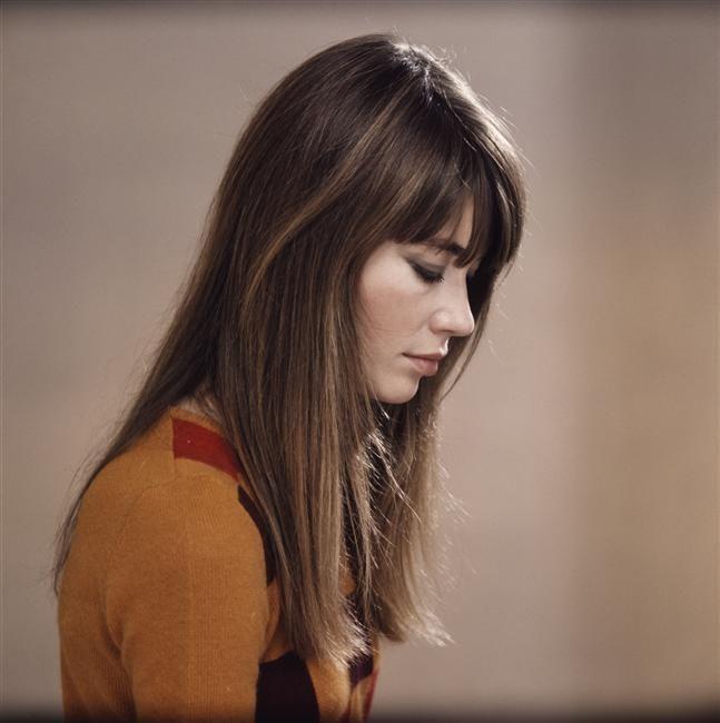 françoise hardy // fashion icon // style idol // iconic women // 1960s // 60s // bangs