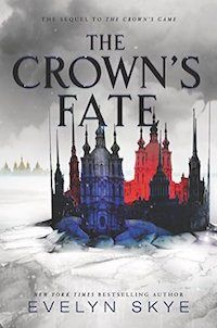The Crown's Fate by Evelyn Skye is one of 2017's books to read for young adults. Make sure to check out The Crown's Game too!
