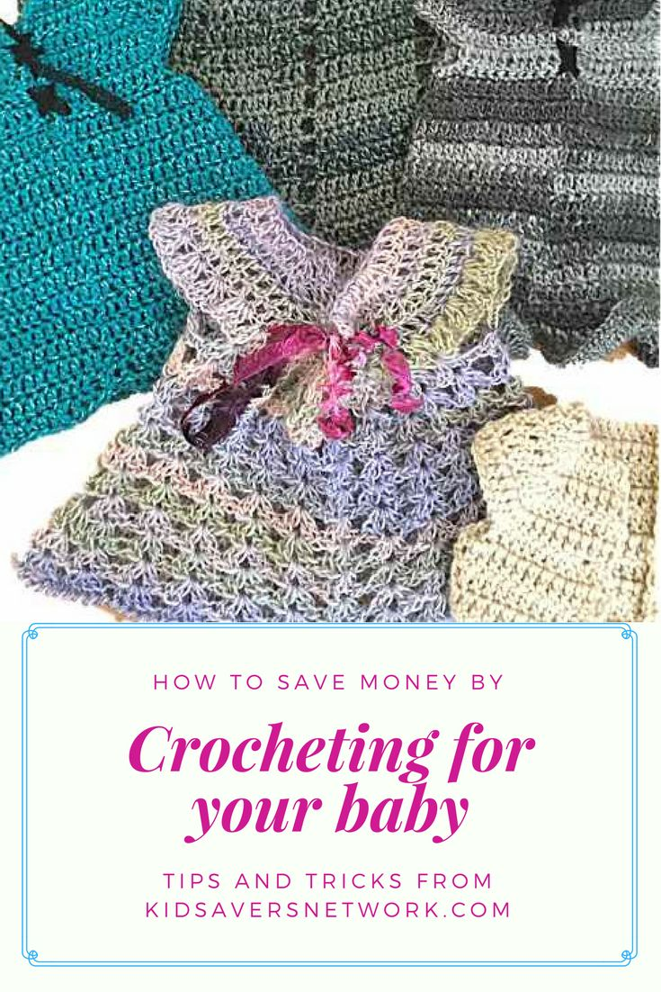Find lots of great crochet baby clothes tips, links, videos & resources in this article from kidsaversnetwork.