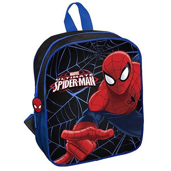 Spiderman rygsæk til drenge med stort flot motiv af superhelten