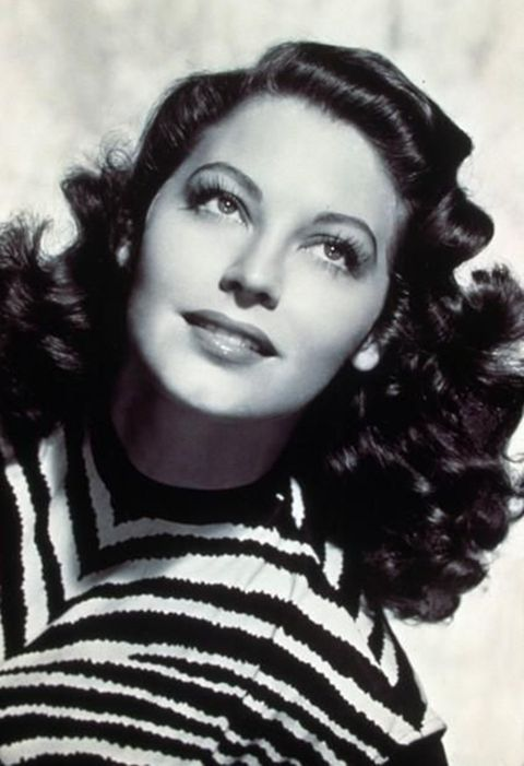 Ava Gardner,her look was timeless and she couldnt have been only Cauasian! i see ethnicity all over that gorgeous face