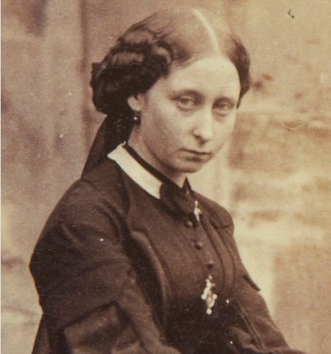 Princess Alice of United Kingdom. Daughter of Queen Victoria and Prince Albert. Mother of Tsarina Alexandria of Russia.